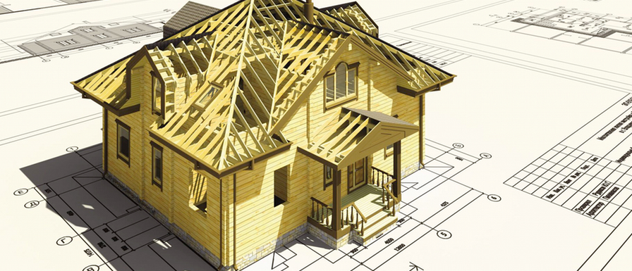 Timber modular houses house building process for Process of building a house